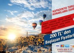Antalya – Kapadokya Turu